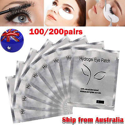 200 Pairs Under Eye Curve Eyelash Pads Gel Patch Lint Free Lash Extension Beauty