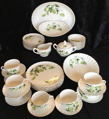 WS George Valencia China B8793 1953 Bolero 45 Piece Set