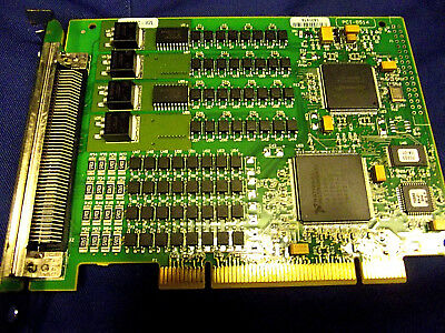 National Instruments  PCI-6514 64channel I-O PCI Interface Card