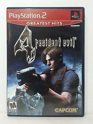 Playstation 2 Resident Evil 4, PS2 Video Game