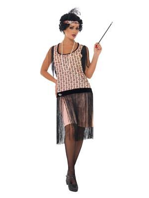 Women's Ladies Fancy Dress 20'S Flapper Gatsby Charleston Dress And Accessories