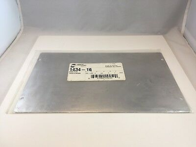HAMMOND 1434-16 COVER PLATE FOR ALUMINUM CHASSIS 0.040 in