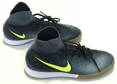 NIKE JR MAGISTAX PROXIMO II IC Sz 5 Youth Seaweed Volt-843955 374 ... 7efec80b943