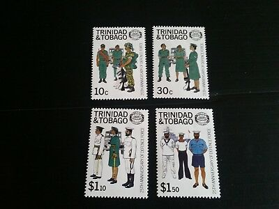 Trinidad And Tobago 1988 Sg 732-735 25Th Anniv Of Defence Force Mnh