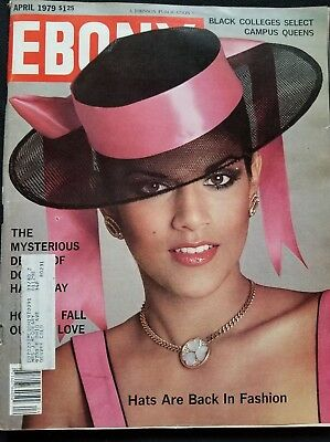 Ebony Magazine April 1979 Navia, a beautiful young model from Puerto Rico cover