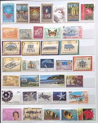 Norfolk Island 50 Stamps Fine Used + MNH 1981 M/S