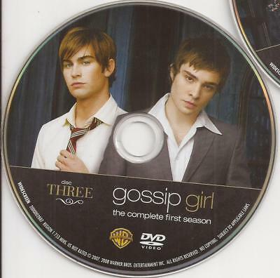 Gossip Girl (DVD) Season 1 Disc 3 Replacement Disc U.S. Issue!