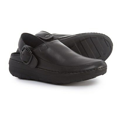 e4c65294d523 FITFLOP LTD FITFLOP Womens Gogh Pro Superlight Leather Clogs 10 ...