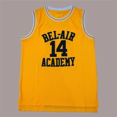The Fresh Prince of Bel Air Academy Jersey Will Smith Basketball Jerseys S-3XL