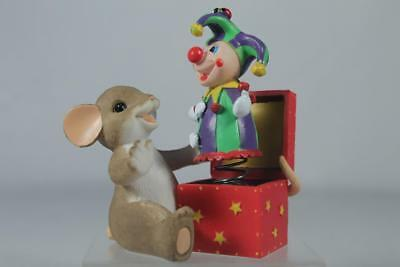 Charming Tails 'You Always Surprise Me' Clown Jack In Box #4045299 New In Box