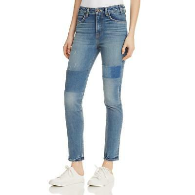 Levi's Womens 721 Patchwork Light Wash High Rise Skinny Jeans BHFO 1527