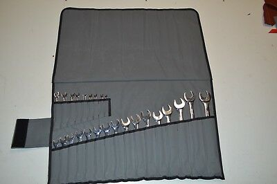Large Canvas Spanner / Tool Roll 25 slots, 100% Australian made.
