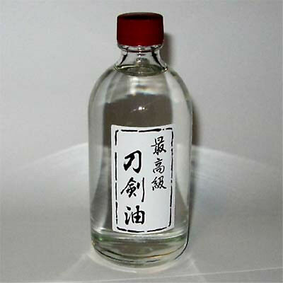 Japanese Sword Tsuba Choji Oil 100 ml Metal Care ONLY 5 AT THIS PRICE - BUY ONE!