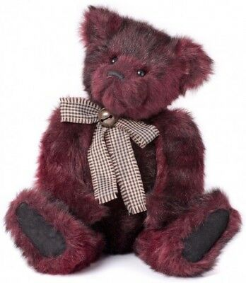 Charlie Bears - Rufus Collectable Teddy Bear 43cm *Rare* Brand New With Tags