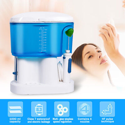Electric Nasal Irrigation Nose Cleaner Sinus Neti Pot Care Adults Baby 1000ml