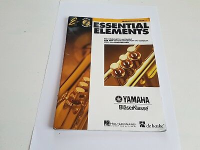 Essential Elements Trompete in B Band 1 incl. CD