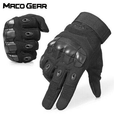 Touch Screen Men's Hard Knuckle Military Motorcycle Moto Gloves Protection Women