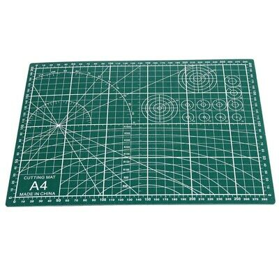 PVC Cutting Mat A4 Durable Self-Healing Cut Pad Patchwork Tools Handmade E9Y1