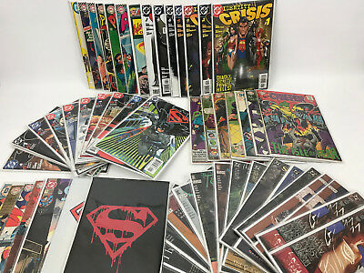 Lot of 54 DC Silver Age Comic Books Aquaman Superman Batman Sandman The Flash