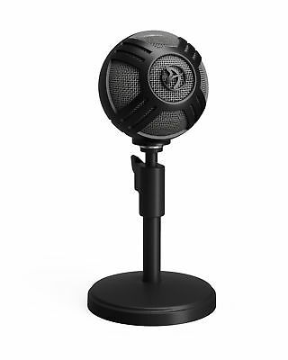 Arozzi SFERA-BLACK Sfera Table microphone Wired Black USB 5V 500mA - 50Hz -