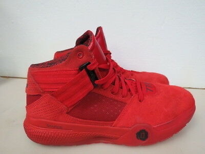 d7baad57ded9 MEN S ADIDAS D Rose 773 4 IV Shoes Sneakers Size 8 Basketball Red ...