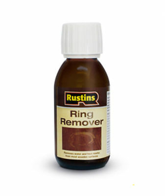 Rustins Ring Remover Removes Water Cup Marks On Wood Surface 125ml Bottle Revive