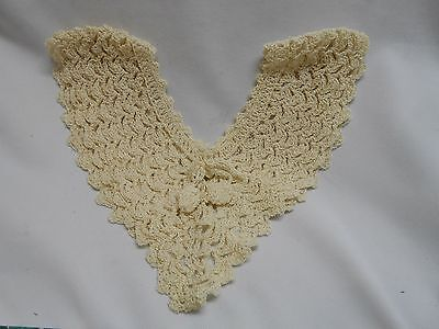 vintage fancy hand crocheted crochet knitted collar shirts blouses dresses