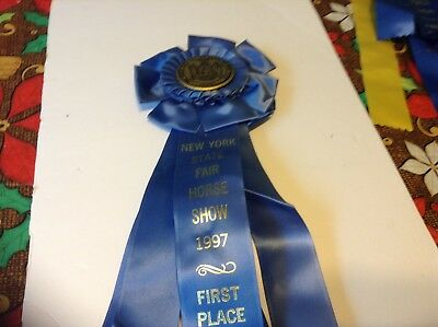 New York State Horse Show 1997 Prize Ribbon First Place