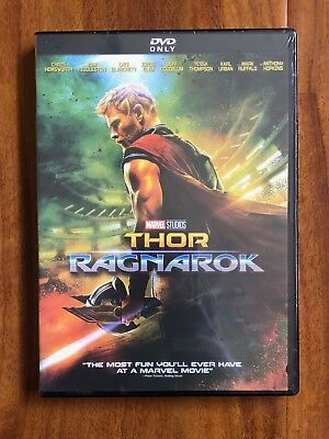 Marvel Studio's Thor Ragnorak Brand New DVD