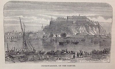 Peterwardein, On The Danube, 1898,  Antique Print/Illustration