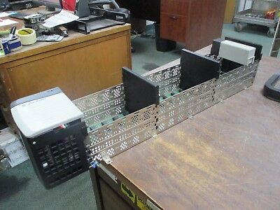 Allen-Bradley 17-Slot Chassis w/ Power Supply 1756-A17/B/1756-PA75/A Used