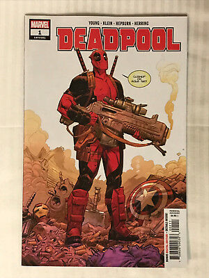 Deadpool (2018 5th Series) #1 - VF/NM - Nic Klein Cover! Skottie Young!