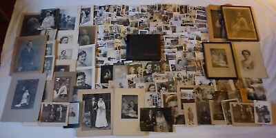 X-Large Lot Of Antique & Vintage Photographs & Photo Album Circa 1900-1950's