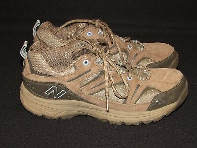 093255ea11f92 New Balance 759 Country Walking Trail Brown Suede Shoes Women's Size 8 / 39