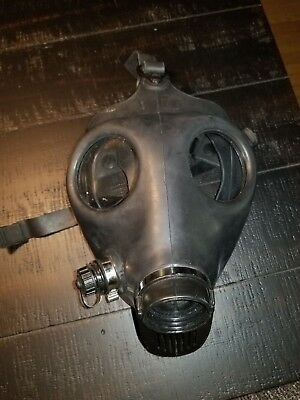 Gas Mask, #1. Was used as prop in a movie. (14i#2)