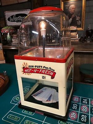"1950's Popcorn Warmer International Vending Machine ""Watch Our Video"""