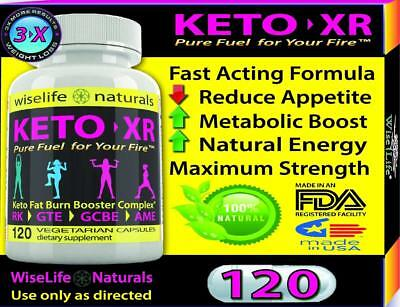 KETO XR Fat Burner Max: Ketogenic Energy Booster Complex Thermogenic Diet Pill