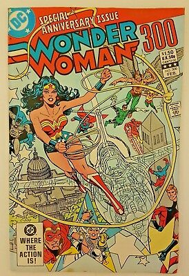Wonder Woman (Vol 1) # 300 76 Page Anniversary Issue 1983 DC Comics Bronze Age