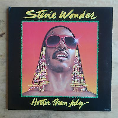 Stevie Wonder Hotter Than July 1980 Vinyl LP Tamla Records T8-373M1