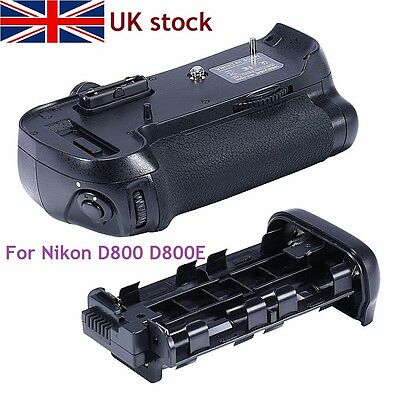 Pro Camera Battery Holder Grip Replacement as MB-D12 for Nikon D800 D800E D800S