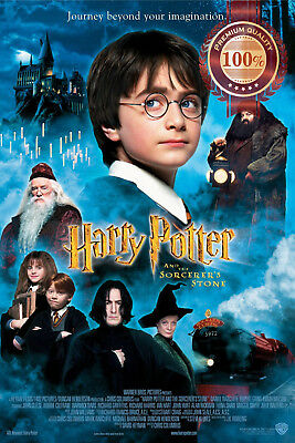 New Harry Potter And The Sorcerer's Stone Cinema Movie Film Print Premium Poster