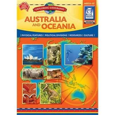 AUSTRALIA & OCEANIA Exploring Geography Ages 8-12 BNew Teacher Resource
