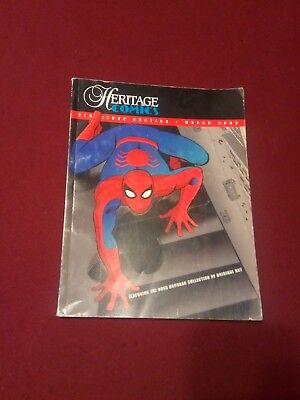 HERITAGE COMIC ART AUCTION CATALOG • March 2002 • 16 years ago prices • wow!
