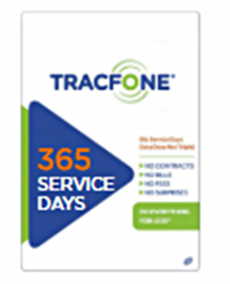 TracFone 1 Year Extension Digital Refill Added to your Number in 24hrs