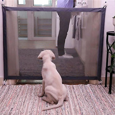 AU Magic-Gate Portable Folding Safety Guard Mesh Magic Net for Pets Dog Cat