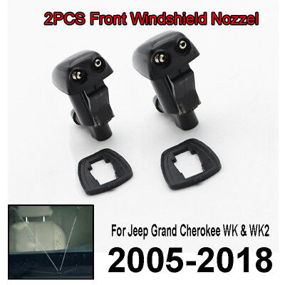 Fit For Jeep Grand Cherokee WK WK2 05-> Front Windscreen Washer Jet Nozzle Spray