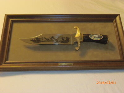 The American Eagle Bowie Knife by Ronald Van Ruyckevelt Franklin Mint New