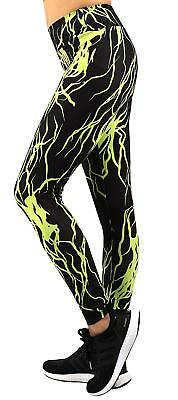 1a00421e58a15 Neonysweets Womens Printed Yoga Pants Active Workout Leggings With Pockets