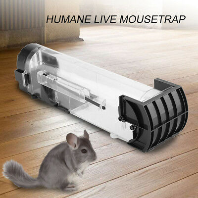 Multi Live Catch Mouse Humane Safe Self Catching Metal Trap Mice Mousetrap Cage
