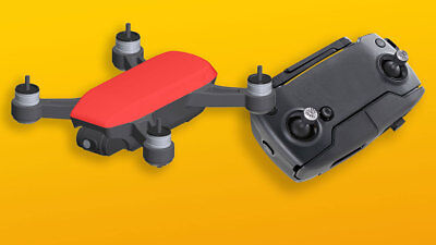 DJI Spark Quadcopter Lava Red With Free Remote Control RR
